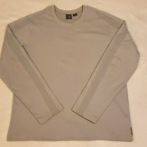Armani Exchange Gray Long Sleeve Tee
